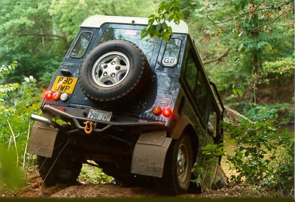 Land Rover Defender 90 - sporting UK number plates