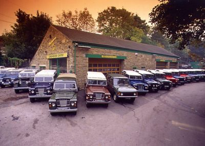 Land Rover Centre Premises