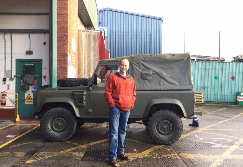 Land Rover Wolf – Converted to meet London LEZ