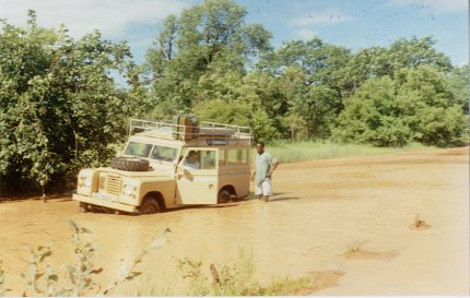 Nikolo Koba National park