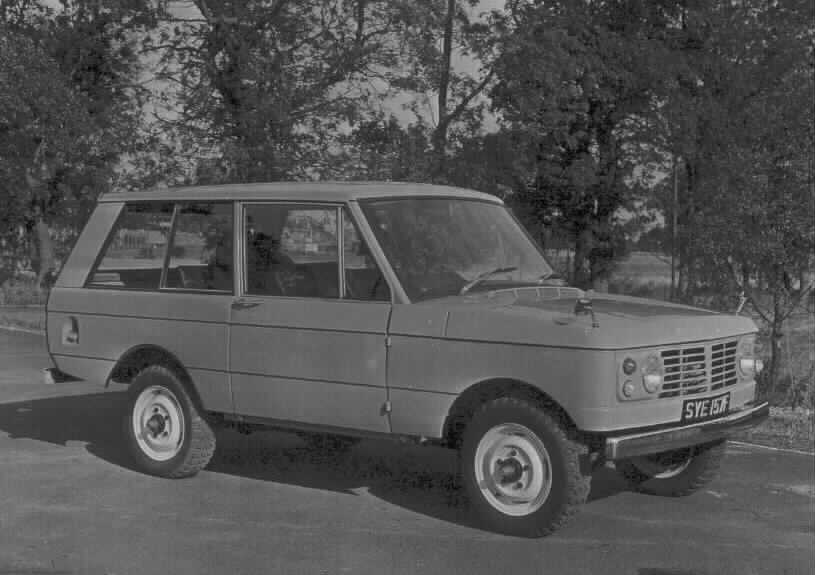 1967 - Range Rover prototype - the first REAL Range Rover