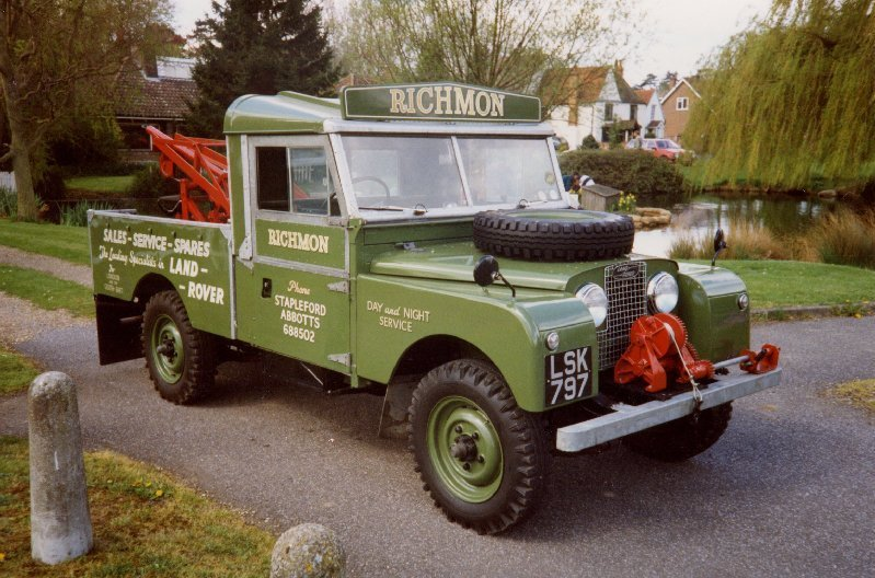 Land Rover series I recovery truck 107 inches