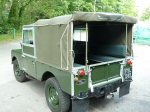 FSL 589 - 1958 land rover series i 88 inch 2.0 petrol