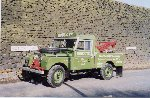 1956 Land Rover Series I - 107 recovery truck - Here she is in Hob Cote Lane