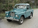 1984 Land Rover Series III 88 Truck cab - Marine Blue