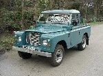 1984 Land Rover Series III 88 Truck cab - Marine Blue