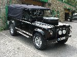Richard Hammond - top gear presenter - 110 defender V8 soft top - 7 days in the making - day 7 - the finished job