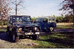 1996 Land Rover Defender 90 - with a series III Playmate