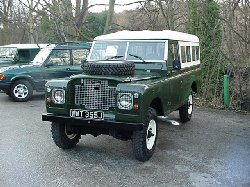 1971 Land Rover series IIA 109 LHD - Finally finished and ready to go !