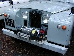 YVS 414 - 1963 Land Rover Series IIA 88 soft top - winch fitted
