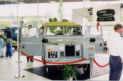 Peter Mulletts 1963 LandRover Series IIA 88 inch soft top - Baltimore, Maryland