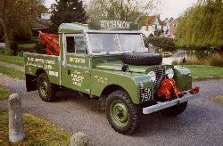 1956 Land Rover Series I - 107 recovery truck