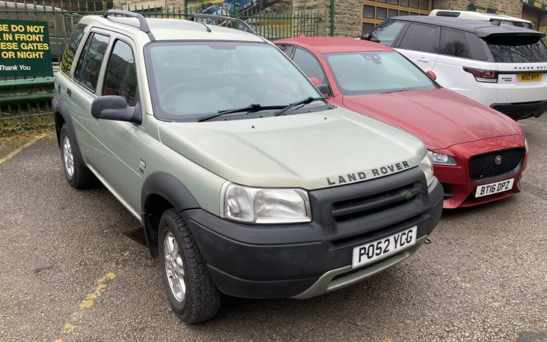 Freelander 1 – Collected by Ken