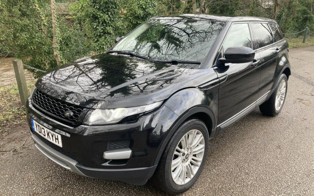 New arrival – 2013 Range Rover Evoque