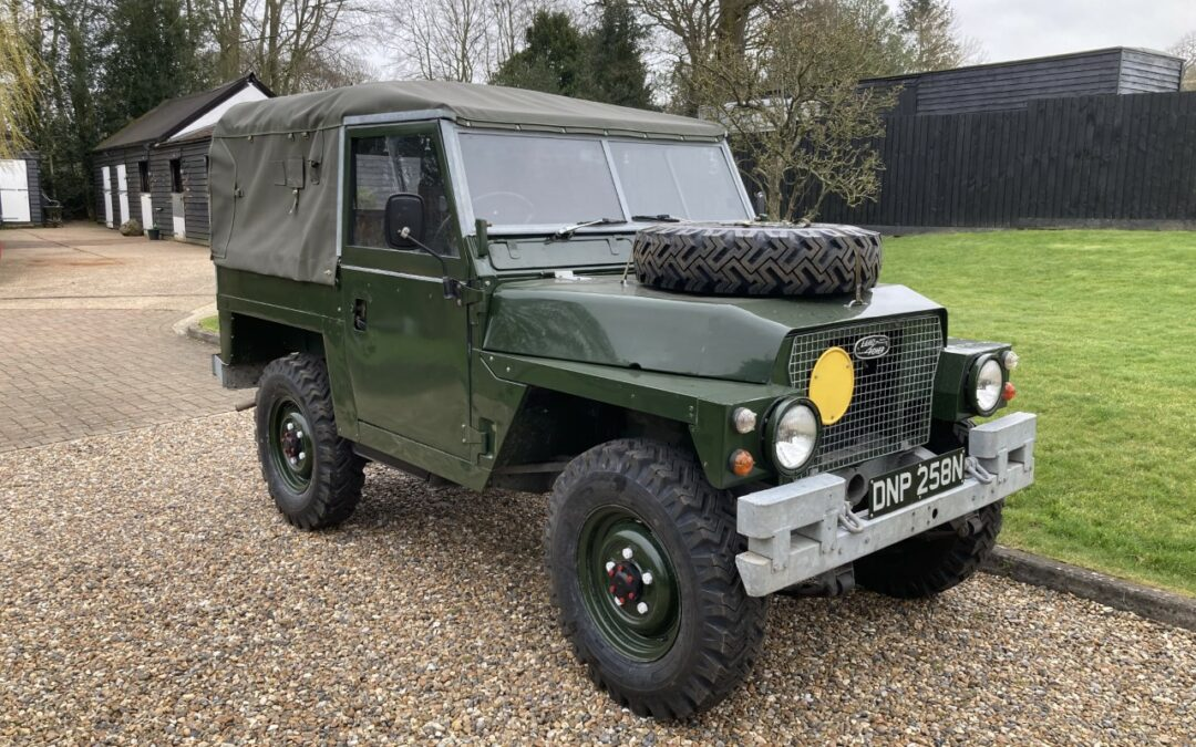 1974 Land Rover Lightweight – Delivered to John in Hertfordshire