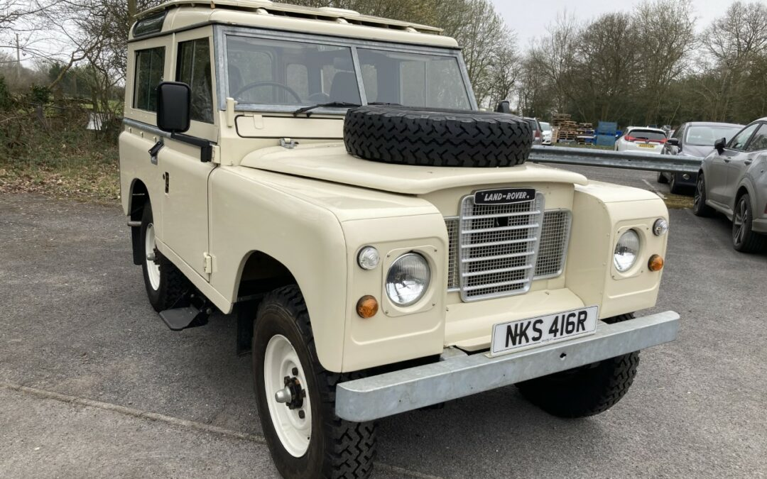 New arrival – 1977 Series 3 – Nut and bolt restoration