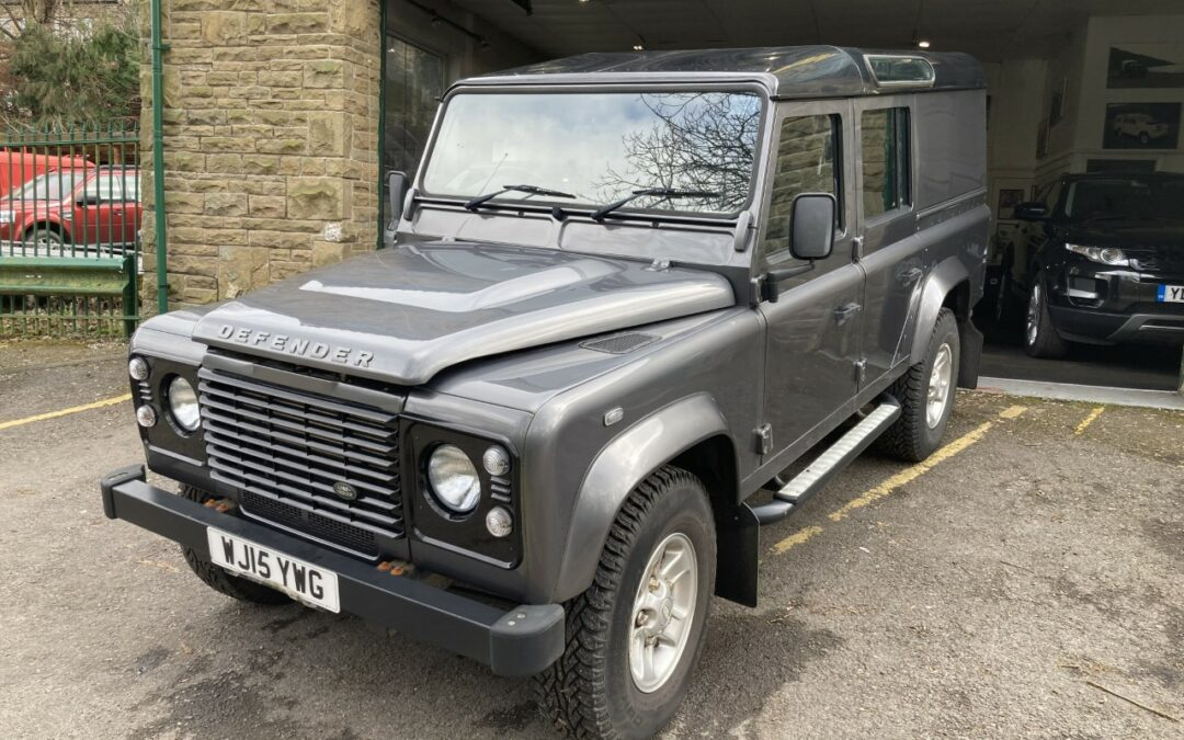 2015 Land Rover Defender 110 – Purchased by Michael
