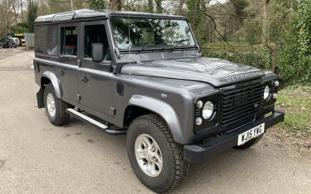 New Arrival – 2015 Land Rover Defender 110 Station Wagon Utility – 24,500 miles !!