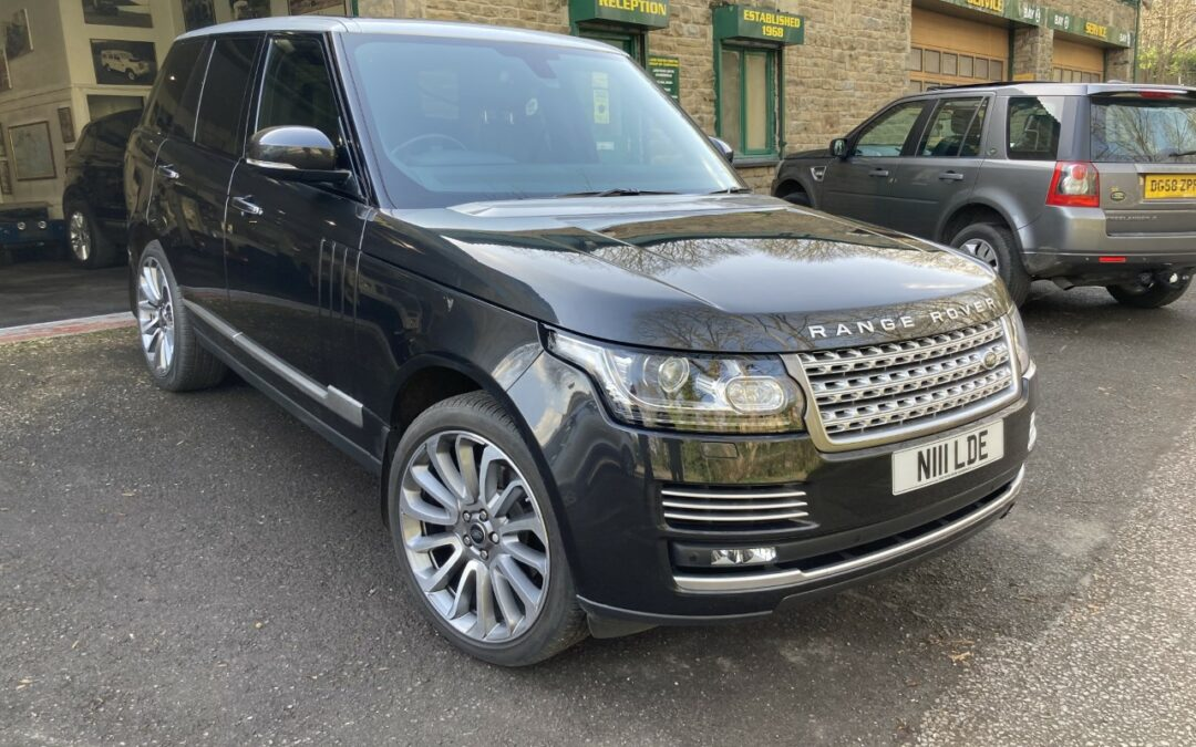 2014 Range Rover – Purchased by Paul