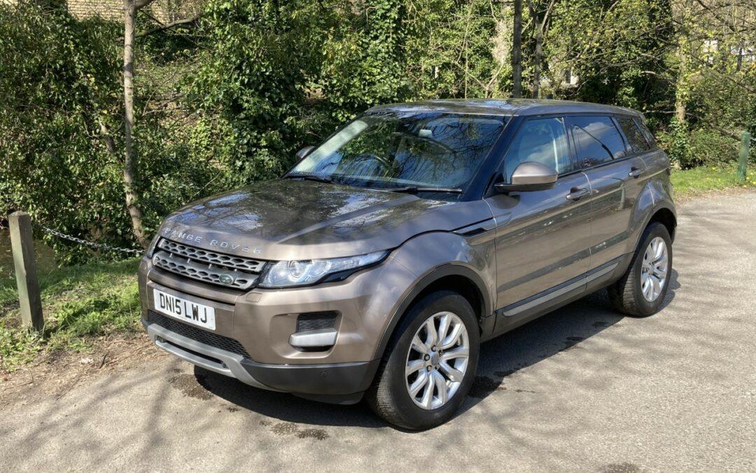 """Click and Collect"" – 2015 Range Rover Evoque"
