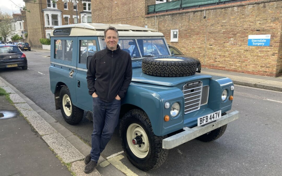 Low mileage Series 3 station wagon – delivered to Julian in West London