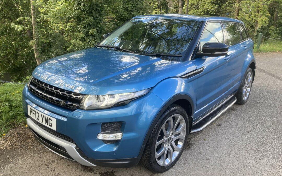 New Arrival – 2013 Range Rover Evoque Dynamic