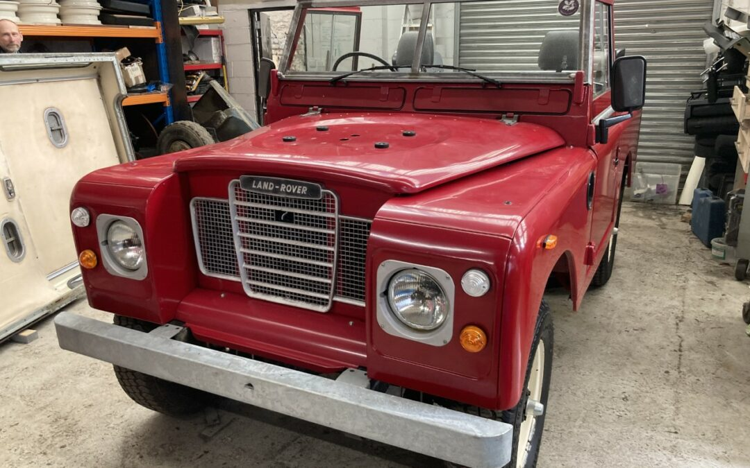 Series 3 County Soft Top – Off down under