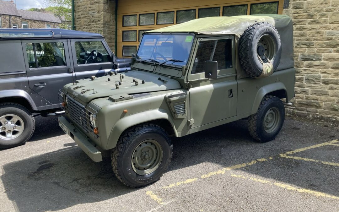 Land Rover 90 Defender WOLF – Purchased by Kevin from Shropshire