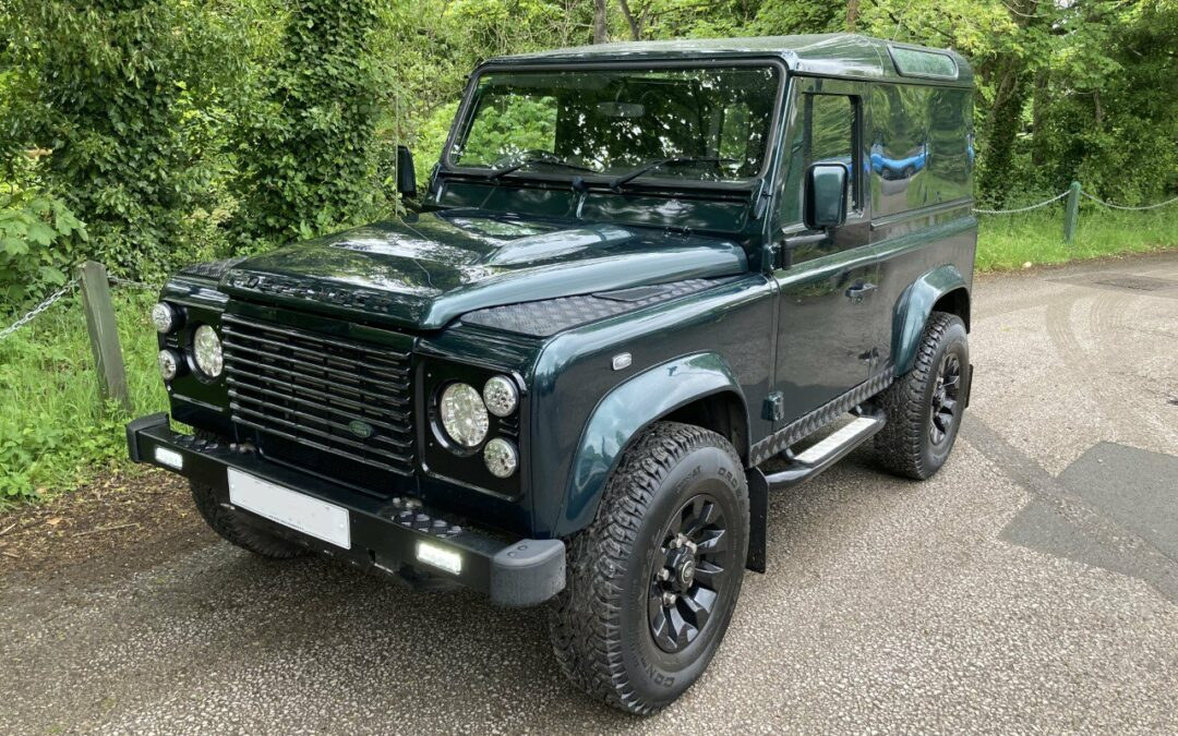 New Arrival – A Stunning 2012 defender 90 – 42,000 miles from new !!