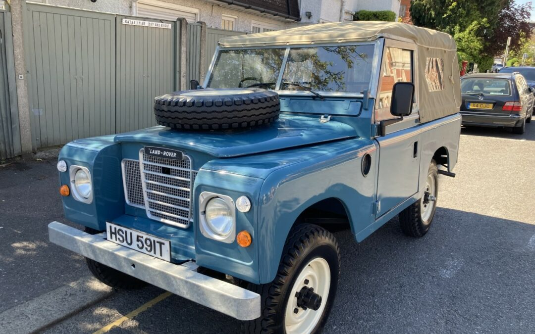 1979 Land Rover Series 3 – Delivered to Mark in South West London