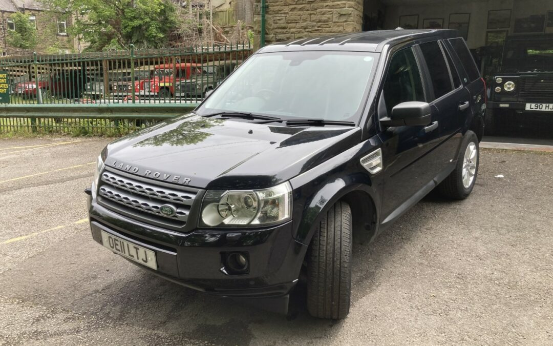 Land Rover Freelander 2 – Collected by Scott