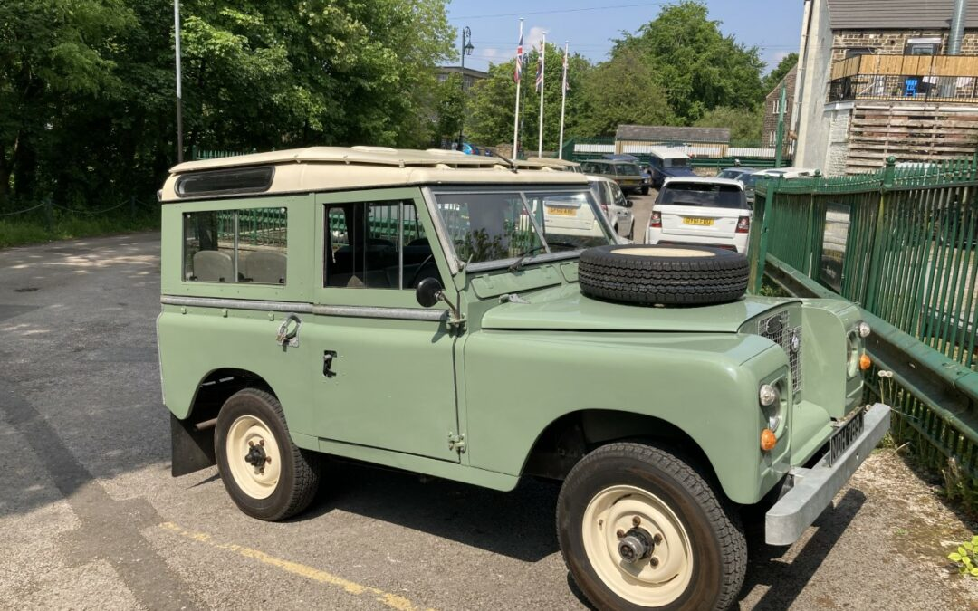 New Arrival – 1971 Land Rover Series IIA – Pastel Green !