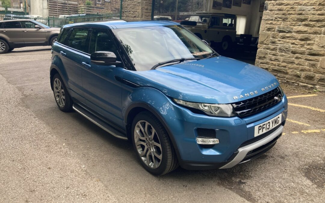 2013 Range Rover Evoque – Purchased by Jeremy in South Yorkshire