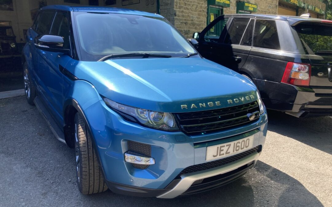 Jeremy from South Yorkshire – Collects his Evoque