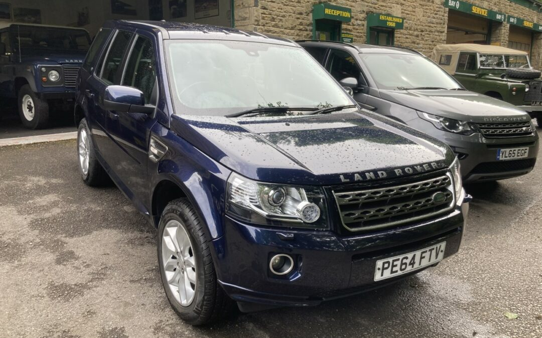 2014 Freelander 2 SE – Sold and ready for collection