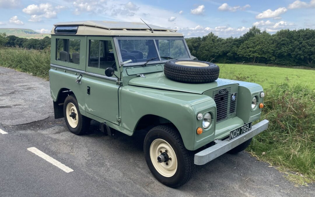 1971 Land Rover Series 2A – Final Road Test