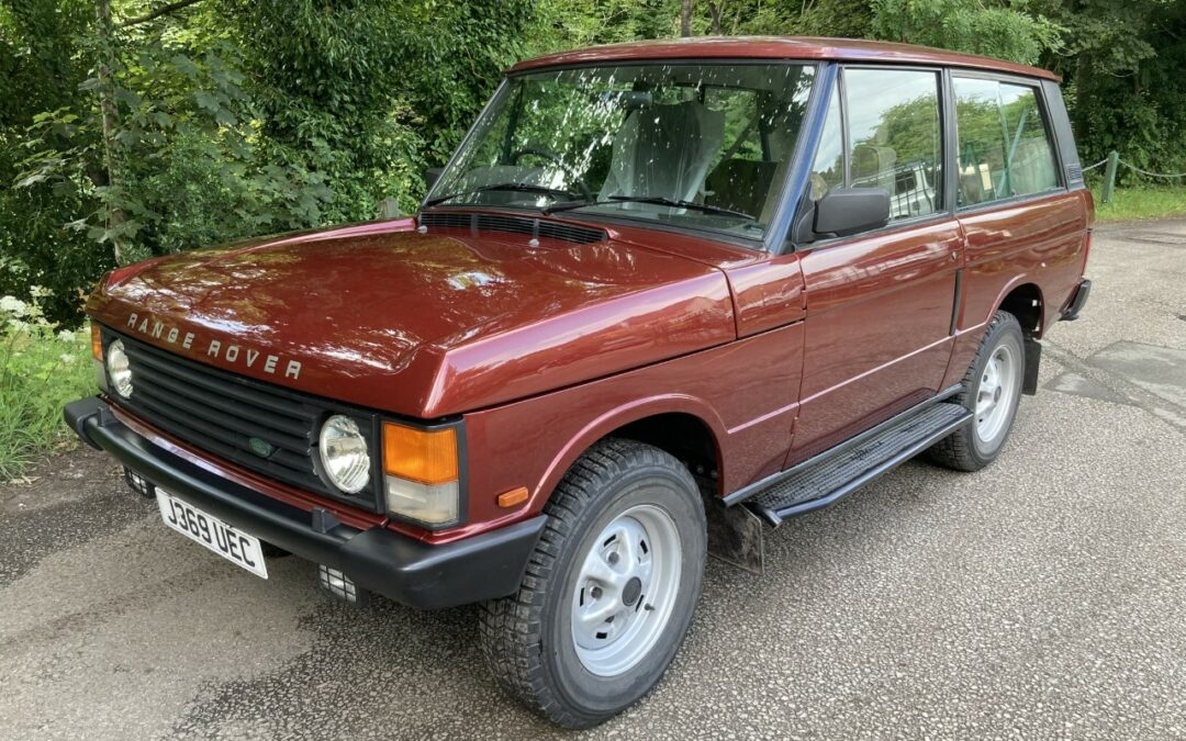 New Arrival – 1992 Range Rover 2 door Classic