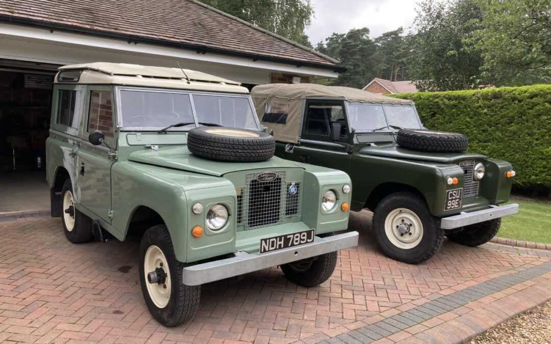 1971 Series Land Rover Delivered – 1968 Land Rover Collected