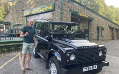 2009 Defender collected by David
