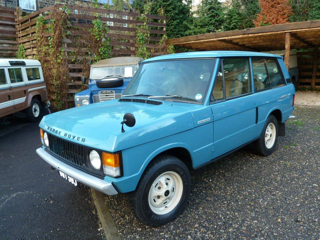 1971 Range Rover 2 Door Classic Diesel Land Rover Centre