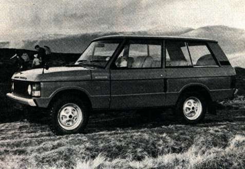 History of the Range Rover Marque